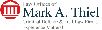 Law Office of Mark A. Thiel Header Logo